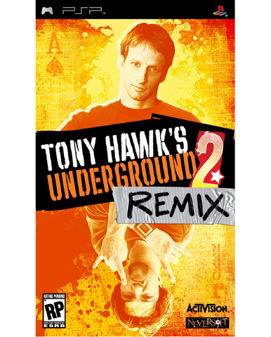 PSP - TONY HAWK'S UNDERGROUND 2: REMIX