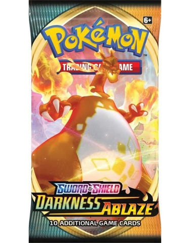 BOOSTER! POKÉMON SWORD AND SHIELD - DARKNESS ABLAZE