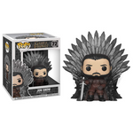 POP! GAME OF THRONES DELUXE - JON SNOW ON IRON THRONE