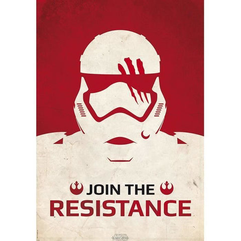 "STAR WARS - POSTER ""JOIN THE RESISTANCE"" (98cmX68cm)"