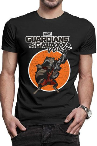 T-SHIRT - GUARDIANS OF THE GALAXY ROCKET RACCOON