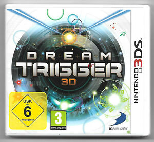 NINTENDO 3DS - DREAM TRIGGER 3D - SEMINOVO