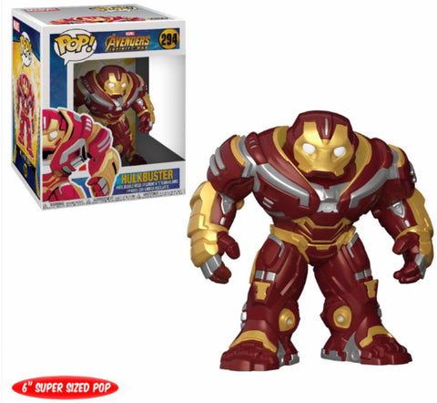 POP SUPER SIZED! MOVIES VINYL FIGURE HULKBUSTER