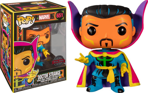 POP! MARVEL - DR. STRANGE (BLACK LIGHT)