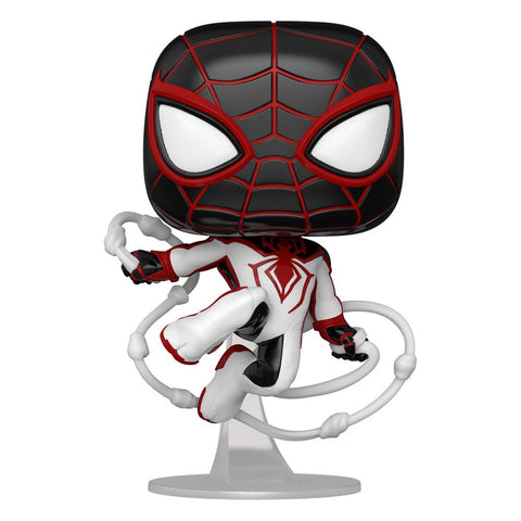 POP! GAMES MARVELS SPIDER-MAN - MILES MORALES TRACK SUIT