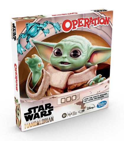 STAR WARS THE MANDALORIAN ACTION GAME OPERATION *ENGLISH VERSION* - JOGO DE TABULEIRO