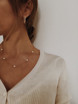 Mila Pearl Necklace