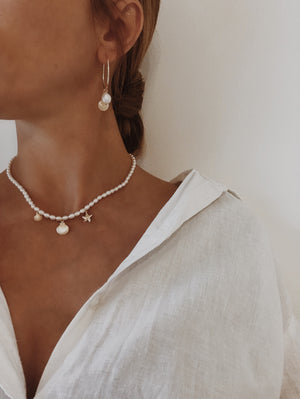 Baby Pearl Sea Necklace