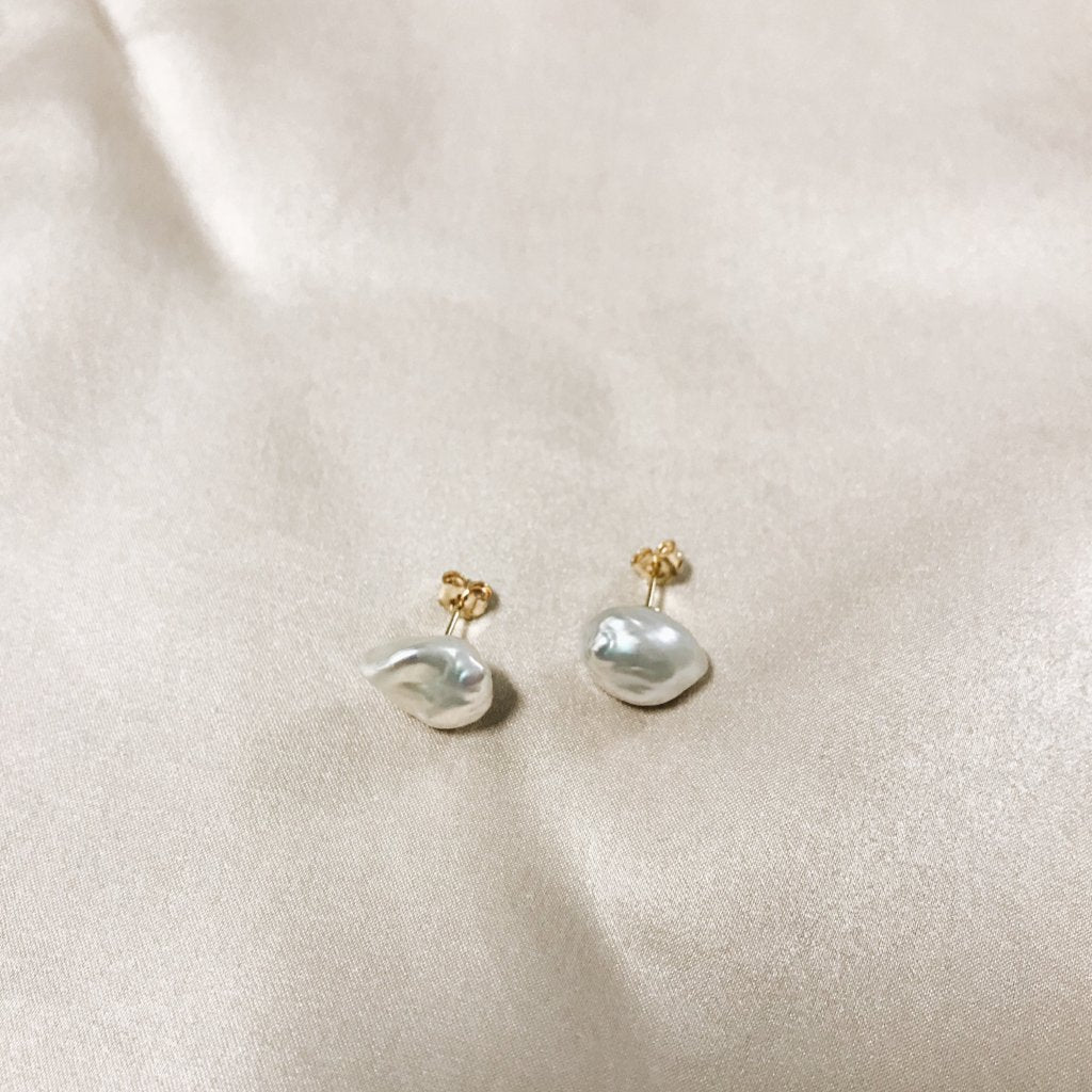 Luster Pearl Studs