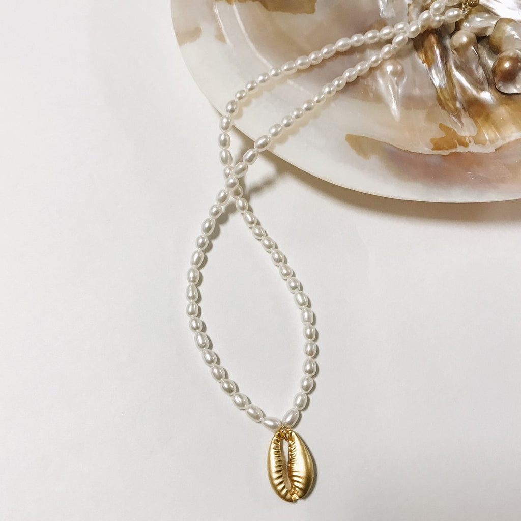 Cauri Shell Necklace