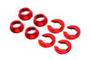 PitVisit Aluminum Subframe Spacer Kit Bushing Collars for Nissan 240SX 300ZX S13 S14 S15 Z32