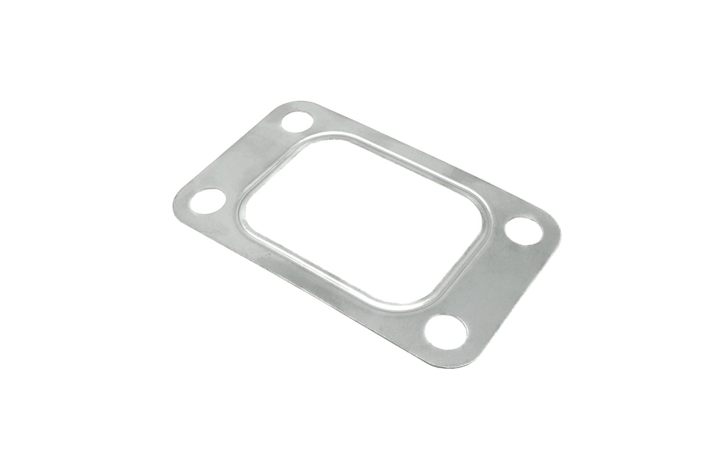 PitVisit T3 T3/T4 Turbo Turbine Inlet 4 Bolt Gasket Stainless Steel Compatible with Garrett Precision PTE Turbonetics Turbocharger