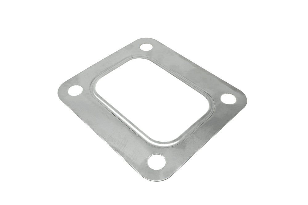 PitVisit T4 Turbo Turbine Inlet Gasket 4 Bolt Stainless Steel Compatible with Garrett Precision PTE Turbonetics Turbocharger
