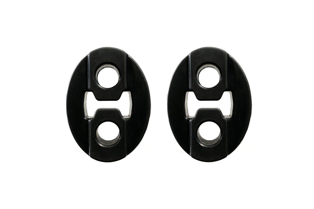 PitVisit 2 Hole Exhaust Hanger (Oval - 2 Pack)