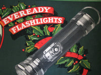 1920's Antique Eveready Flashlight Vintage Advertising Poster
