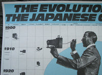 1986 Evolution of the Japanese Camera Poster