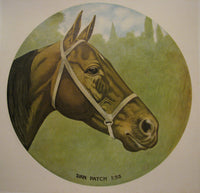 1900 Dan Patch Original Vintage Horse Racing Sports Poster