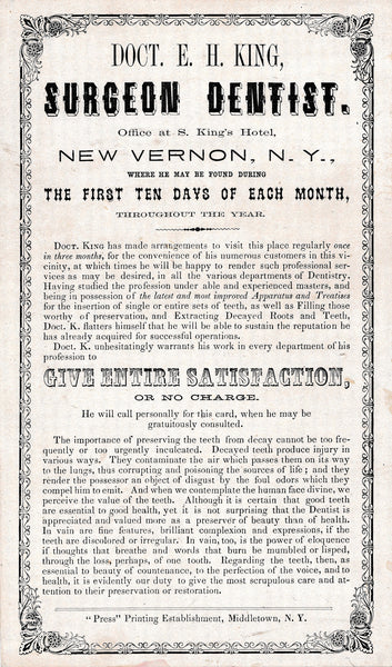 1873 Original Marshfield MA Green Harbor Marshes Broadside Poster