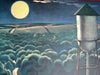 "1947 John Falter ""Lovers' Lane, Falls City, Nebraska"" Saturday Eve Post Poster Original Vintage"