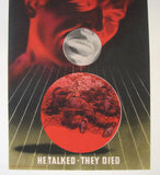 "1943 Abram Games WW2 ""He Talked, They Died"" British Vintage Poster"