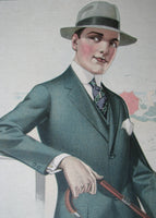 1918 Meyer & Co. Chicago Vintage Clothing Poster