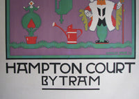 1922 Hampton Court British Rail Poster by Charles Paine