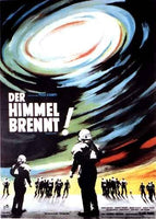 1964 Der Himmel Brennt Vintage French Sci Fi Movie Poster
