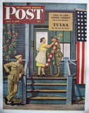 1947 Stevan Dohanos Veterans WWII WW2 era Saturday Eve Post Poster