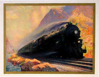 1930's NY Central Railroad Walter Greene Vintage Poster
