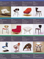 1990's Vitra Chairs Collection Modern Design Poster