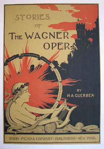 1890's Stories of the Wagner Opera Vintage Literary Poster