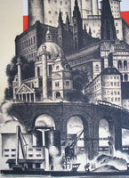 1930's Vintage Rome Italy Italian ENIT Travel Poster