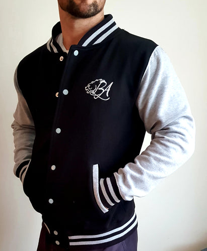 Bear Aesthetics Gym Varsity Jacket American Football and Basketball For Sale