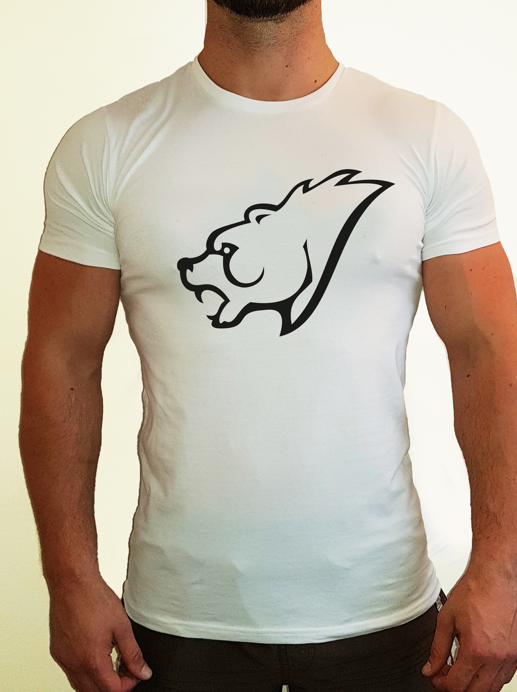 Muscle Fit T-Shirt - Big Bear Head