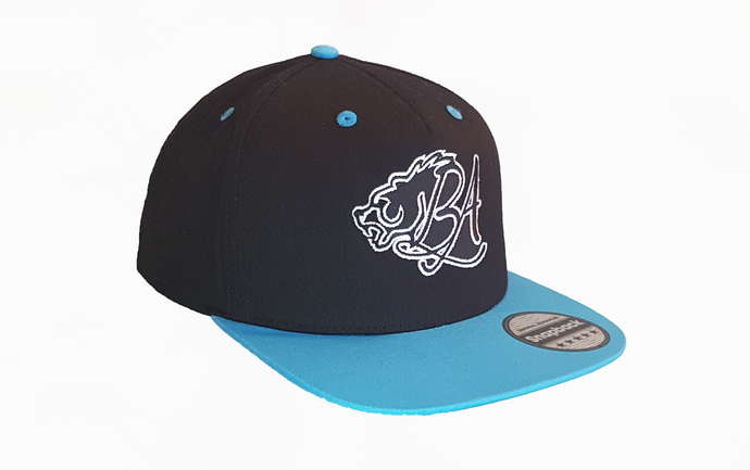 Bear Aesthetics Contrast Peak Snapback Cap For Sale