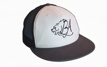 Bear Aesthetics Trucker Snapback Flat Peak Gym Cap