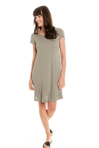 Jules Lined T-Shirt Dress