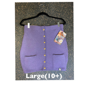 Honeybea Bumwarmer-Lilac Gold Button Large (10+)