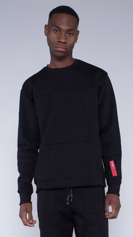 KRBN Industries Ocelot Sweatshirt Black