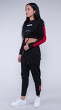 KRBN Industries Nikolia Sweats Black