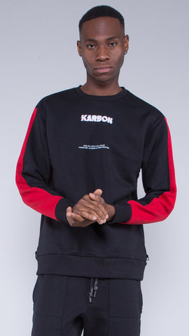 KRBN Industries Variks Sweatshirt Black