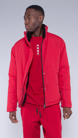 KRBN Industries Vex Jacket Red