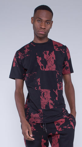 Vulcan T-shirt Black / Red