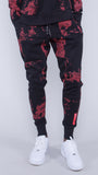 KRBN Industries Liquid Men's Jogger Black / Red