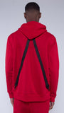 KRBN Industries Kio Men's Hoodie Red