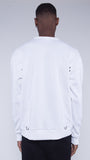 KRBN Industries Ocelot Sweatshirt White