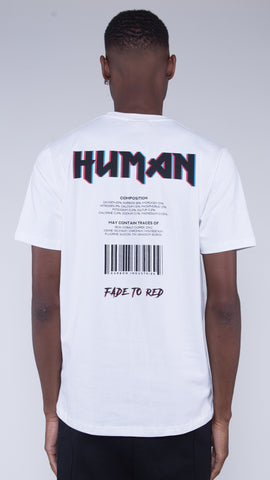 KRBN Industries Human T-shirt White