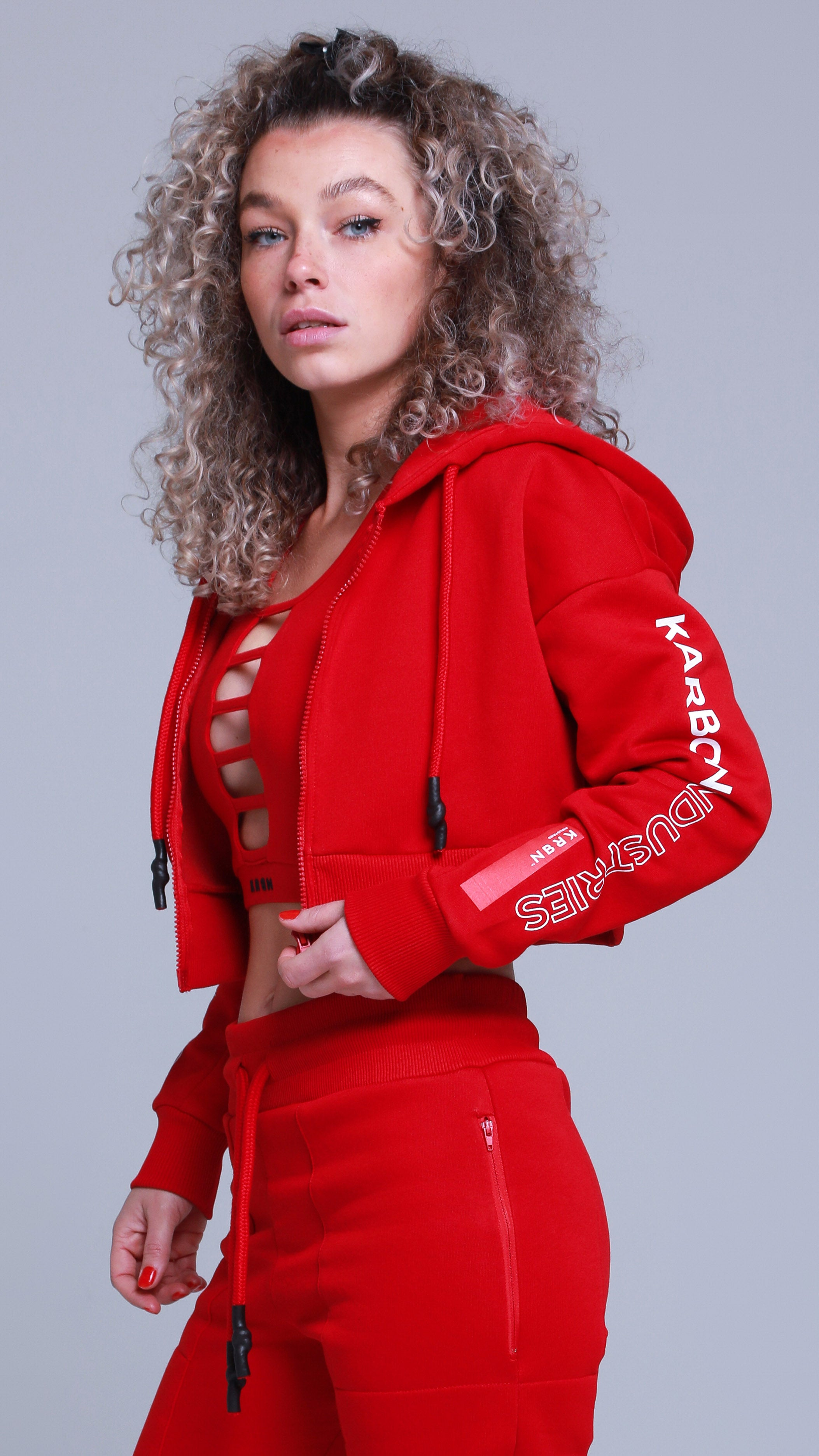 KRBN Industries Efrideet Hoody Red