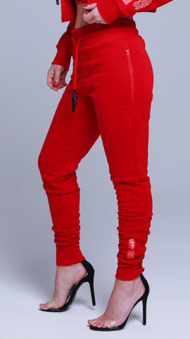 KRBN Industries Alpha-2 Women's Jogger Red