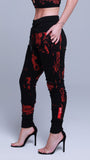KRBN Industries Liquid Women's Jogger Black / Red